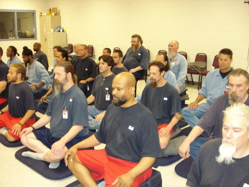 Meditatie verlaagt geweld in Amerikaanse gevangenis
